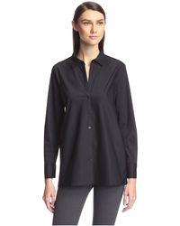 SOCIETY NEW YORK Tunic Shirt - Black