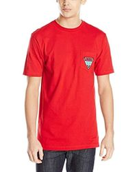 Volcom Appointed Pocket T-shirt - Red