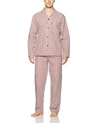 Ben Sherman Poplin Pajama Set-bsm1216us - Multicolor