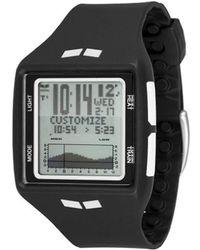 L.A.M.B. Vestal Lb08-1011c Posh Black Enamel Bangle Bracelet Watch