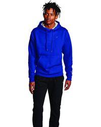 Champion Powerblend Pullover Hoodie - Blue