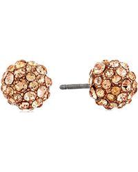 "Vera Bradley - ""radiant Fireball"" Radiant Fireball Stud Earrings - Lyst"