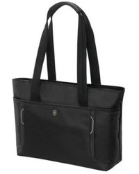 Victorinox Werks Traveler 6.0 Shopping Tote With Pass Thru Sleeve - Black