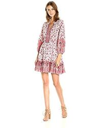 Shoshanna Pasadena Dress - Red