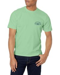 Izod Saltwater Short Sleeve Graphic T-shirt - Green