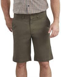 Dickies 11 Inch Active Waist Washed Chino Short - Green
