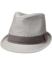 U.S. POLO ASSN. - Tonal Twill Fedora Hat - Lyst