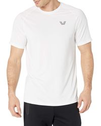 Peak Velocity Vxe Short Sleeve Quick-dry Loose-fit - White