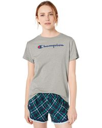 Champion Classic Jersey Short Sleeve Tee - Gray