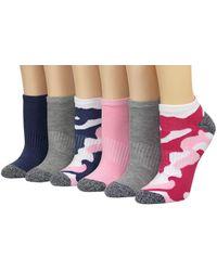 Superga 6pk Ladies Athletic Low Cuts - Multicolor