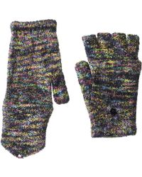 Steve Madden Space Dye Convertible Magic Tailgate Glove - Black