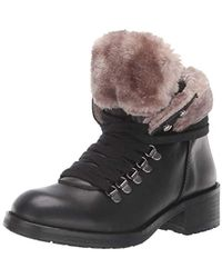 5f686394cf2 Steven by Steve Madden - Paloma Fashion Boot Black Leather 8 M Us - Lyst