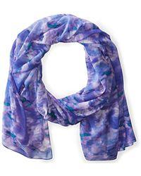 La Fiorentina - Ikat Rose Printed Scarf - Lyst