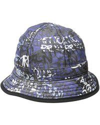 True Religion - Graffiti Print Bucket Hat - Lyst