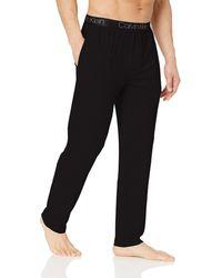 Calvin Klein Ultra Soft Modal Pants - Black