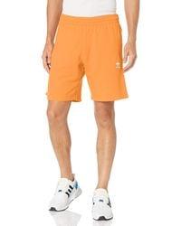 adidas Originals ,mens,trefoil Essentials Shorts,black,large