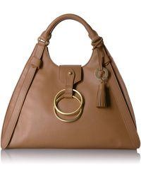 Badgley Mischka Campaign Bugatti (cognac) Handbags - Brown