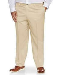 Essentials Mens Big /& Tall Classic-fit Wrinkle-Resistant Flat-Front Dress Pant fit by DXL