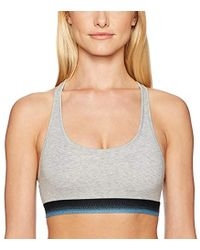 Mae - Sporty Cotton Bralette With Ombre Elastic (for A-c Cups) - Lyst