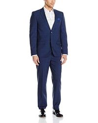 Ben Sherman - Two Button Slim Fit Glenplaid Suit - Lyst