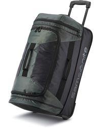 Samsonite Andante 2 Drop Bottom Wheeled Rolling Duffel Bag - Black