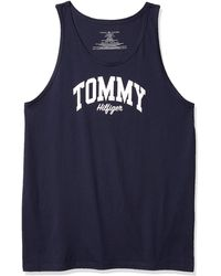 Tommy Hilfiger Jersey Sleep Lounge Tank - Blue