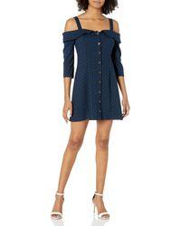BCBGeneration Mini Cocktail Dress - Blue