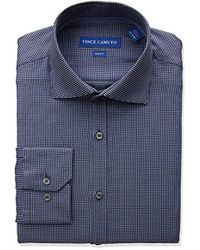 Vince Camuto - Slim Fit Square Dobby Dress Shirt - Lyst