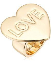 BCBGeneration - Bcbg Generation Heart Love Ring, Size 7 - Lyst