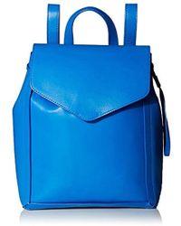 Loeffler Randall - Small Drawstring Back Pack, Electric Blue - Lyst
