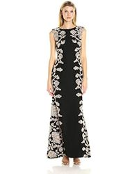 Tadashi Shoji - Embroidered Lace Gown - Lyst