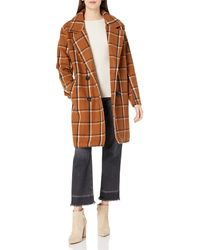 Steve Madden Wool Fashion Coat - Multicolor
