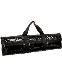 LeSportsac Lotus Yoga Bag,black Patent,one Size