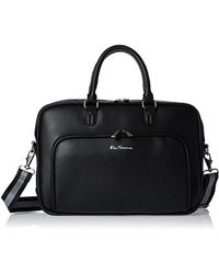 """Ben Sherman - Faux Leather Top Zip 15.0"""" Computer Briefcase - Lyst"""