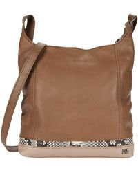 The Sak De Young Leather Crossbody - Brown