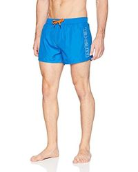 DIESEL Bmbx-sandy 2.017 Swim Boxer Short - Blue