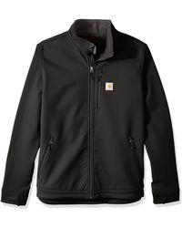 Carhartt Big & Tall Crowley Jacket - Black