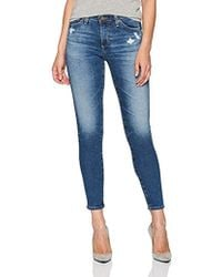 AG Jeans - The Middi Ankle Jean, - Lyst