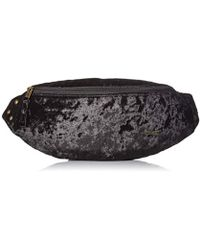 Roxy Julia Banana Velvet Fanny Pack - Black
