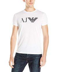 acae5b3f5065 Lyst - Men s Armani Jeans T-shirts
