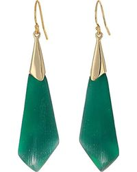 Alexis Bittar - Faceted Wire Drop Earrings - Lyst