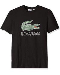 Short T Sleeve On Lyst Men's Lacoste Shirts Sale dCsxBtQhr