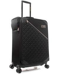 Marc New York Mulsanne Softside Spinner Luggage - Black