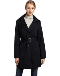 MICHAEL Michael Kors Single-breasted Trench - Black