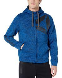Reebok Fleece Active Jacket - Blue