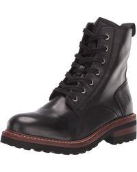 Frye Women's Ella Moto Leather Booties - Black
