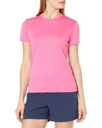 X Large Wow Pink Hanes Mens Sport Cool DRI Performance Tee