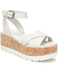 Franco Sarto Fae Wedge Sandal - White