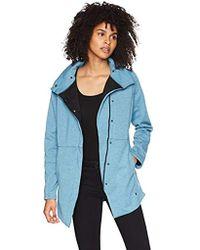 Hurley Thermafit Winchester Zip Up Fleece Sweatshirt - Blue