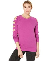 Marc New York - Crewneck With Sleeve Cut-outs Pullover - Lyst